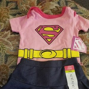 Supergirl out fit with CAPE